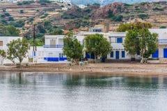 Kimolos island landscape, Cyclades. Greece Stock Images