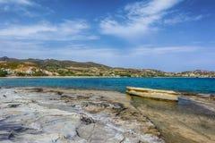 Kimolos island landscape, Cyclades. Greece Stock Photography