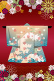 Kimono. This graphic is Japanese Kimono Royalty Free Stock Photos