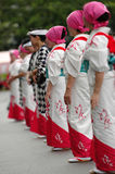 Kimono royalty-vrije stock foto