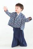 Kimono boy Stock Images