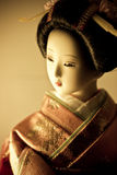 Kimono doll Stock Photography