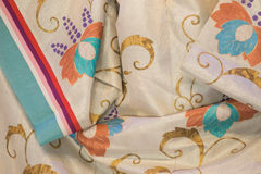 Kimono fabric detail Royalty Free Stock Photography