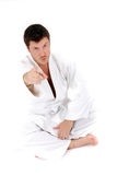 Kimono fighter Stock Photo