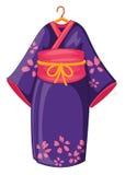 Kimono giapponese Fotografie Stock Libere da Diritti