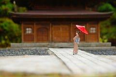 Kimono girl Royalty Free Stock Image