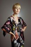 Kimono Girl Portrait Royalty Free Stock Photography