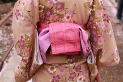 Kimono Japan Fotografering för Bildbyråer