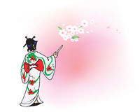 Kimono japanese Stock Photography