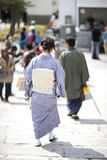 Kimono japonés Imagen de archivo libre de regalías