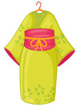 Kimono japonés Imagenes de archivo