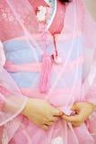 Kimono japonais Photos libres de droits