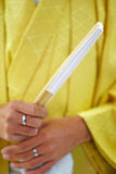 Kimono maschio Immagini Stock Libere da Diritti