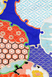 Kimono pattern Royalty Free Stock Photo