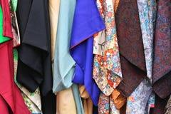 Kimono shopping royalty free stock photo
