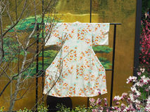 Kimono tradicional foto de archivo