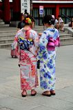 Kimonogeisha Tokyo Japan Stock Fotografie