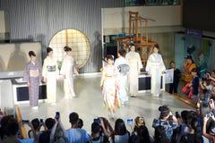 Kimonos japoneses Fotografía de archivo libre de regalías