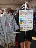 Kimonos for Sale Royalty Free Stock Image