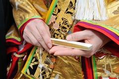 Kimonowi akcesoria Zdjęcia Stock