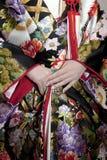 Kimonowy małżeństwo Obrazy Royalty Free