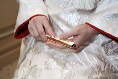 Kimonowy małżeństwo Zdjęcie Stock