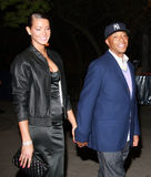 Kimora Lee Simmons et Russell Simmons Images libres de droits