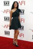 Kimora Lee Simmons, Morgan Freeman lizenzfreie stockfotografie