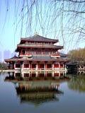 Kina arkitektur arkivbild
