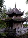 Kina arkitektur royaltyfria bilder