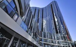 Kina Beijing CBD kontorsbyggnad Arkivbild