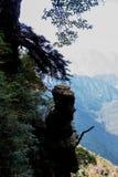 Kina berg och floder ?r s? h?rliga arkivfoton