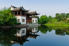 Kina byggande Fotografering för Bildbyråer