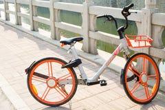 Kina delade att cykla Royaltyfria Foton