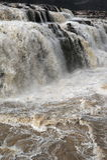 Kina den Yellow River Hukou vattenfallet Royaltyfria Foton