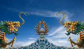Kina drakestaty Royaltyfri Fotografi