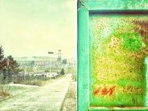 Kina förfallen stad arkivbild