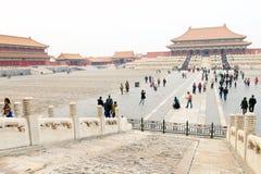 Kina: Forbidden City Royaltyfri Bild