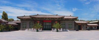 Kina forntida arkitektur Arkivfoton