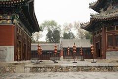Kina forntida byggnader Arkivfoton