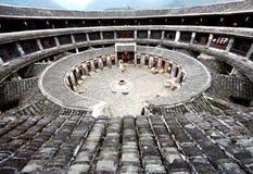 Kina Fujian Hakka Tulou Royaltyfria Bilder