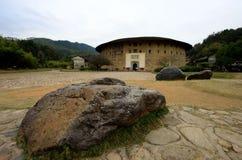 Kina Fujian Hakka Tulou Royaltyfri Bild