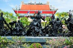 Kina göt gudar. Royaltyfria Foton