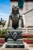 Kina göt lionen. Arkivbild