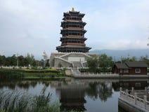 Kina gammal stad, Peking Arkivfoton