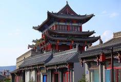 Kina gammal stad, Shanxi Royaltyfri Foto