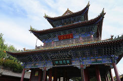 Kina gammal stad, Shanxi Royaltyfria Bilder
