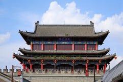 Kina gammal stad, Shanxi Royaltyfria Foton