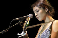 Kina Grannis-Hua Hin Jazz Festival in Thailand Stock Photography