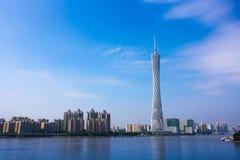 Kina Guangzhou Royaltyfri Fotografi